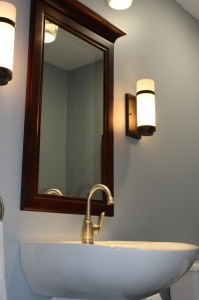 Bathroom Vanity & Mirror